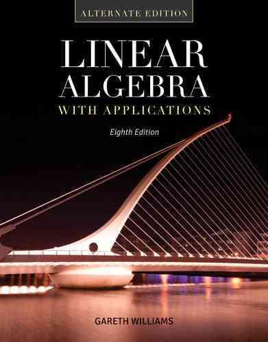 Linear Algebra With Applications By Williams, Gareth